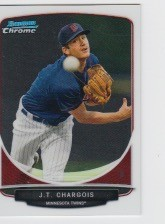 2013 Bowman Chrome Mini J. T. Chargois Card