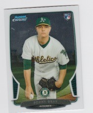 2013 Bowman Chrome Mini Sonny Gray Card