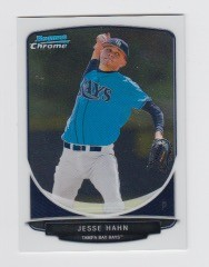 2013 Bowman Chrome Mini Jesse Hahn Card