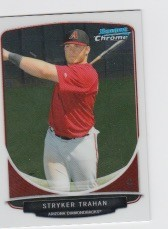 2013 Bowman Chrome Mini Stryker Trahan Card
