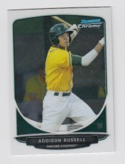 2013 Bowman Chrome Mini Addison Russell Card