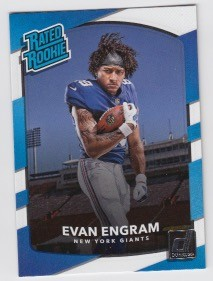 2017 Panini Donruss Football Evan Engram Card