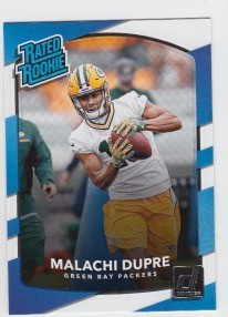 2017 Panini Donruss Football Malachi Dupre Card