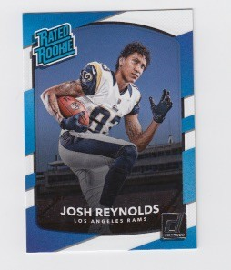 2017 Panini Donruss Football Josh Reynolds Card