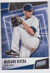 2019 Panini Father's Day Mariano Rivera Card