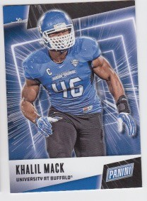 2019 Panini Father's Day Khalil Mack Card