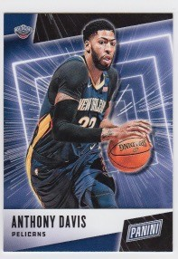 2019 Panini Father's Day Anthony Davis Card