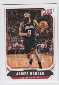 2018 Panini The National James Harden Card