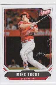 2018 Panini The National Mike Trout Card