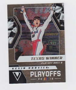2019 Victory Lane Kevin Harvick Playoff Card