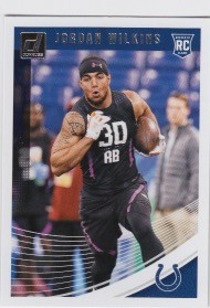 2018 Dunruss Rookie Jordan Wilkins Card