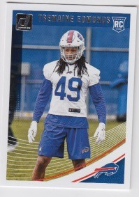 2018 Dunruss Rookie Tremaine Edmunds Card