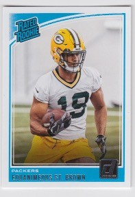 2018 Dunruss Rookie Equanimeous St. Brown Card