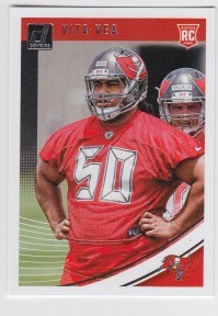 2018 Dunruss Rookie Vita Vea Card