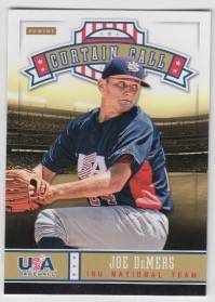 2013 Panini USA Baseball Joe DeMers Card