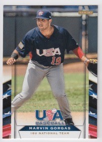 2013 Panini USA Baseball Marvin Gorgas Card