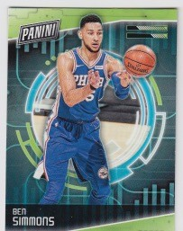 2018 Panini Cyber Monday Ben Simmons Card