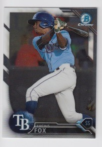 2016 Bowman Chrome Lucius Fox Prospect Rookie Card