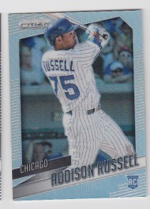 2015 Panini Prizm Multisport Addison Russell rookie Refractor Rc /25