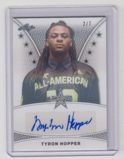 2019 Leaf Army All American Tyron Hopper Tour Auto /7