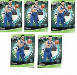 2018 Panini Cyber Monday Ben Simmons 5- card Lot!!